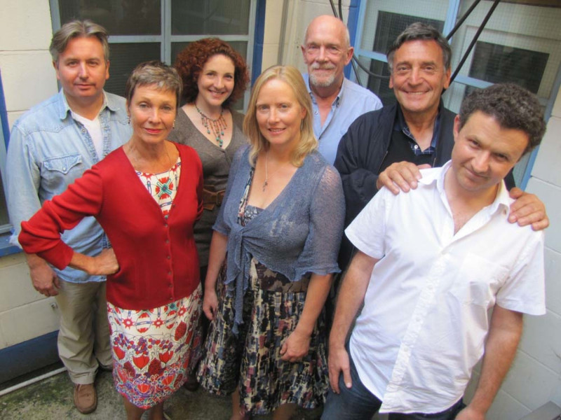 The cast of The Pelage Project