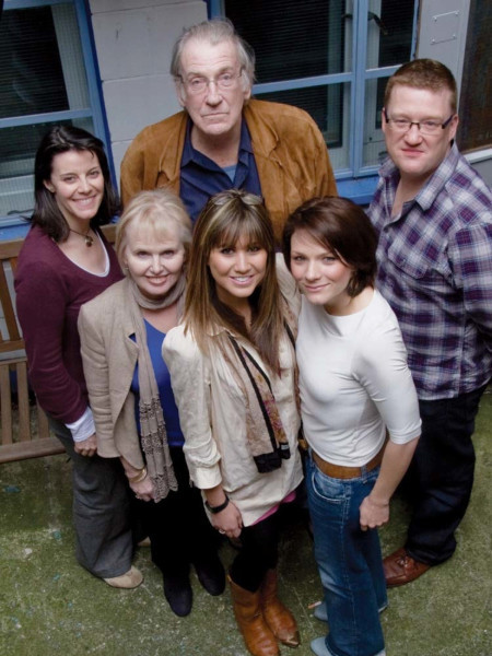 Lisa Bowerman, Patricia Brake, David Warner, Ciara Janson, Laura Doddington and Mark Wright
