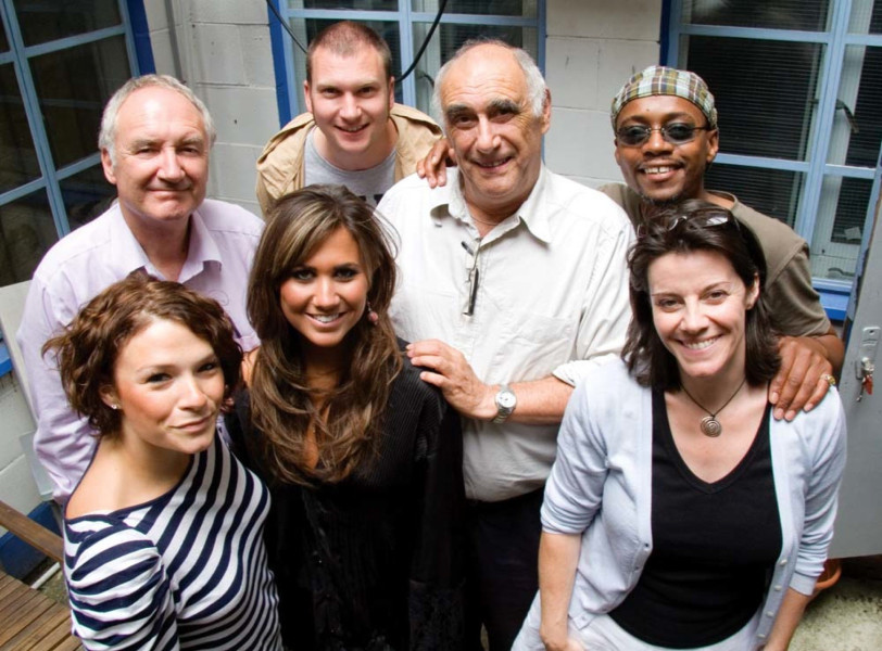 Michael Keating, Laura Doddington, Ciara Janson, Simon Guerrier, Roger Watkins, Fraser James and Lisa Bowerman