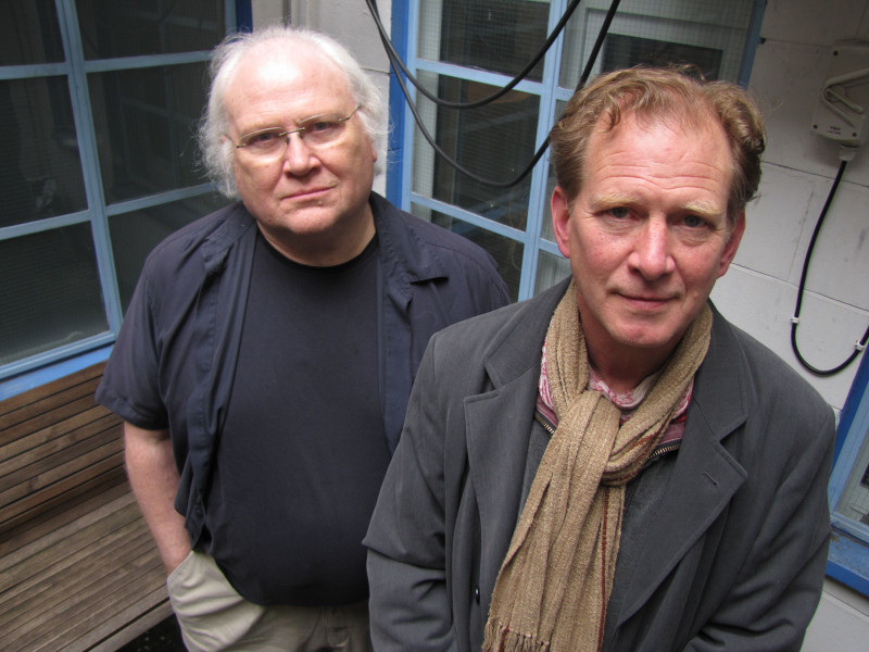 Colin Baker and James Wilby in The Acheron Pulse