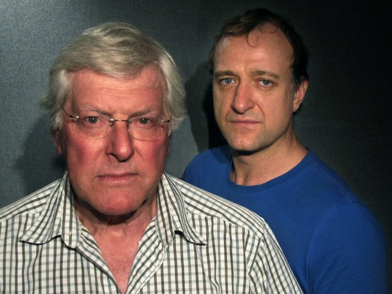 Peter Purves and Tim Treloar