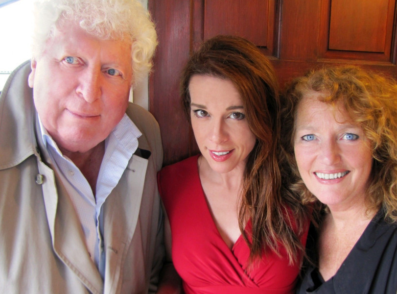 Tom Baker, Chase Masterson and Louise Jameson