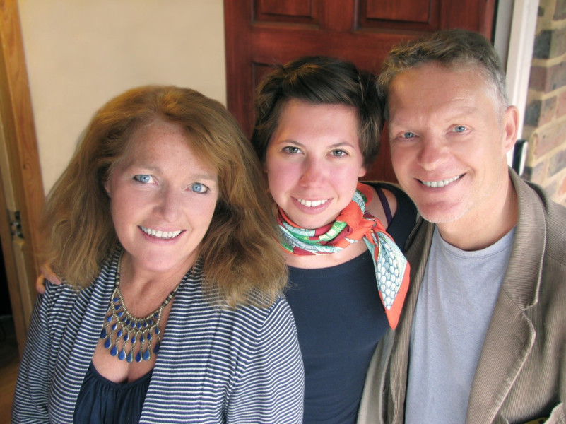 Louise Jameson, Anna Hawkes and Nigel Fairs