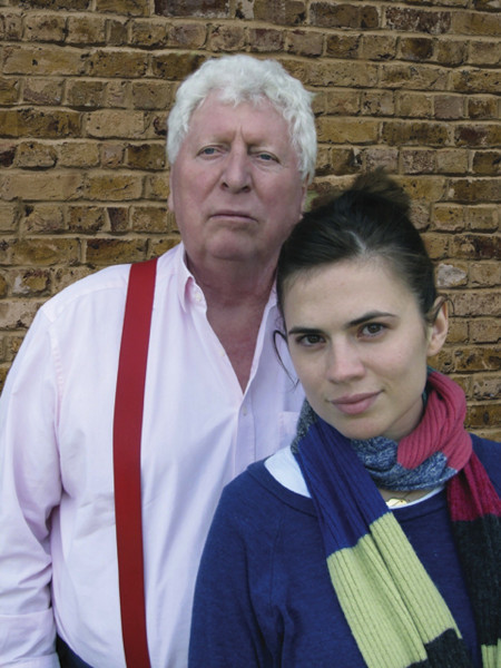 Tom Baker and Hayley Attwell