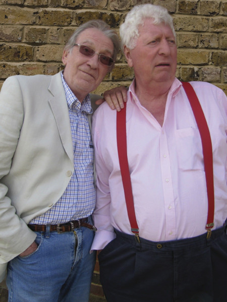 David Warner and Tom Baker