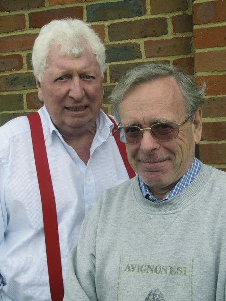 Tom Baker and John Leeson