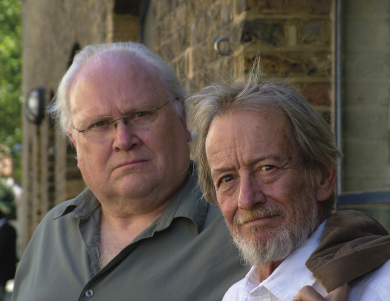 Colin Baker and Ronald Pickup