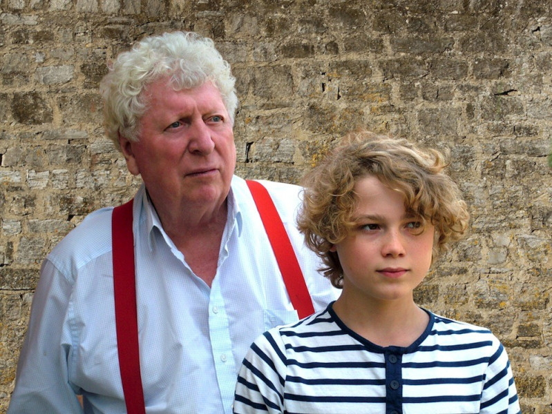 Edward Holtom and Tom Baker