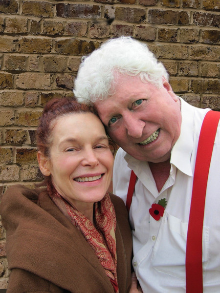Alice Krige and Tom Baker