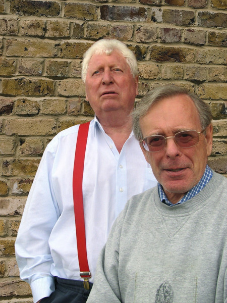 Tom Bsker and John Leeson