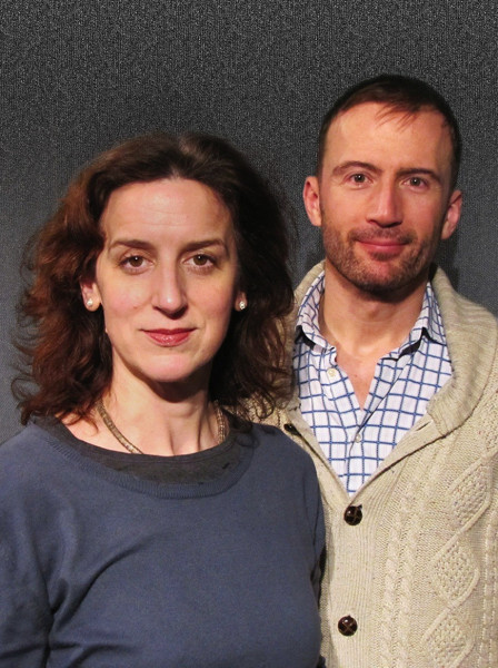 Abigail Thaw and Anthony Howell