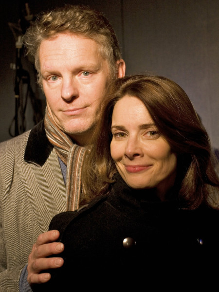 Nigel Fairs as Silas Collins and Nicola Bryant as Grace Collins