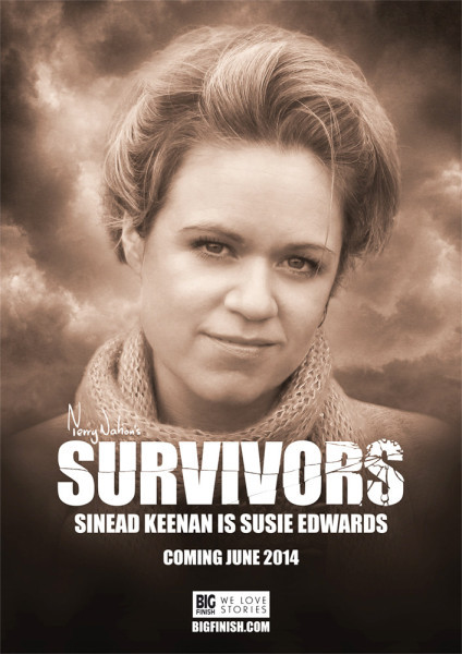 Sinead Keenan is Susie Edwards