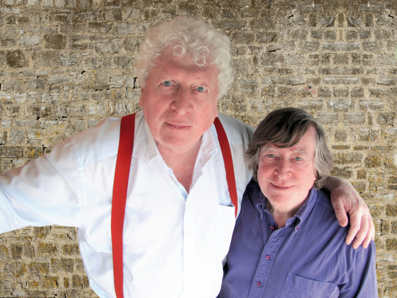 Tom Baker and David Collings