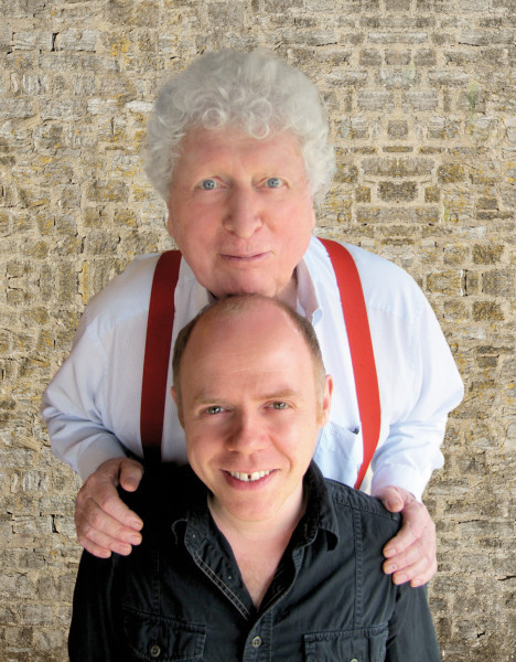 Tom Baker and Dan Starkey