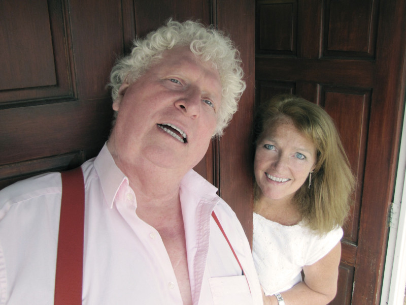 Tom Baker and Louise Jameson
