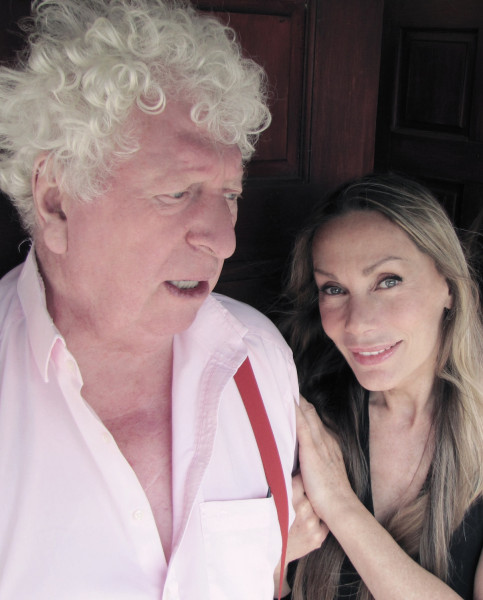 Tom Baker and Virginia Hey