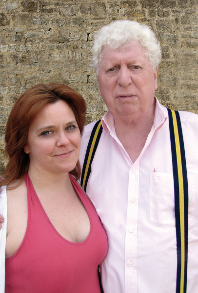Tom Baker and Lizzie Roper