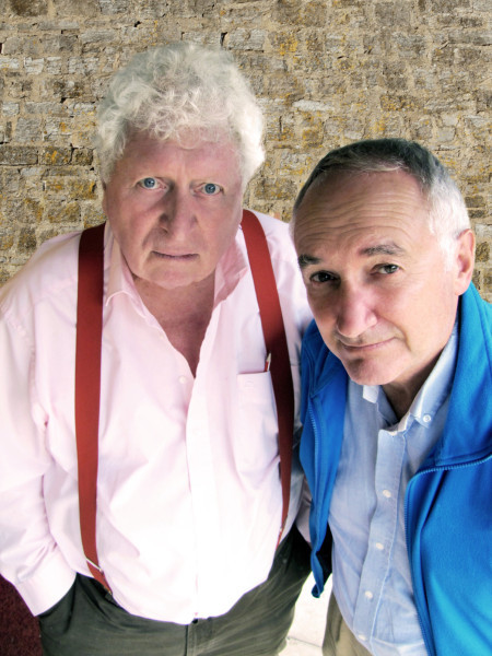 Tom Baker and Michael Keating