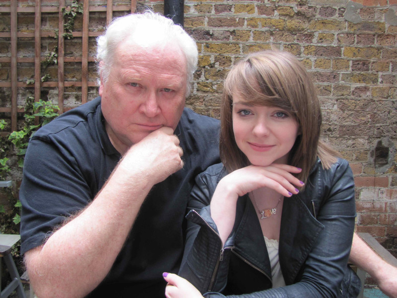 Colin Baker and Lisa Greenwood