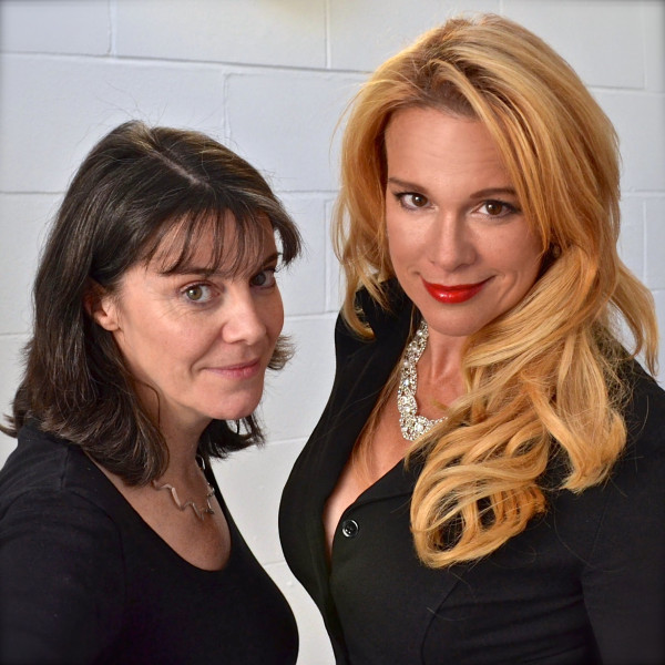 Lisa Bowerman and Chase Masterson