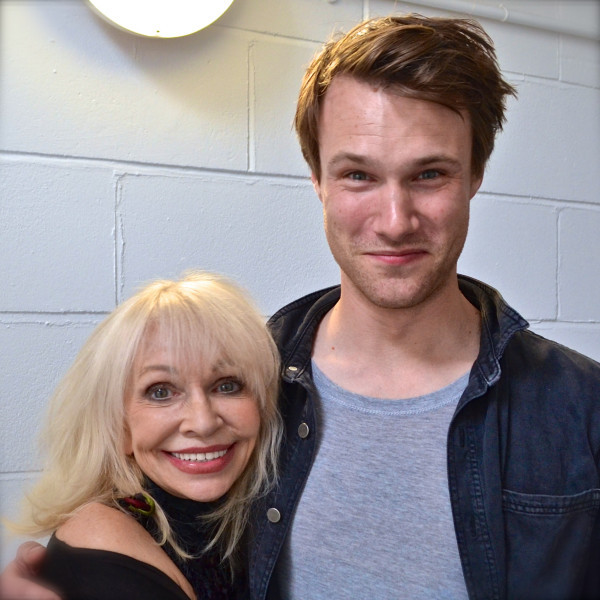 Katy Manning and Hugh Skinner