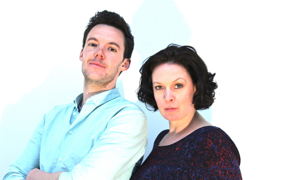 Simon Kent as Alfie Chapman and Brigid Lohrey as Danielle Rogét