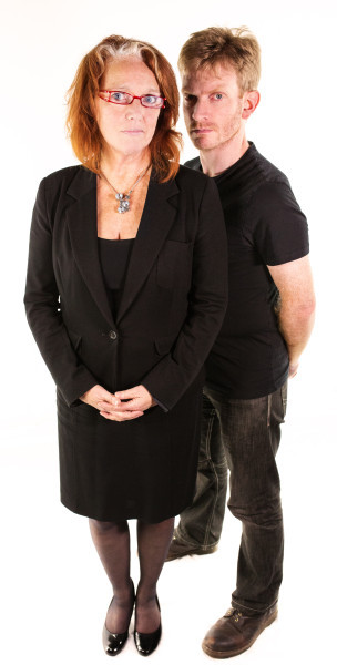 Louise Jameson as Anne Reynolds and John Dorney as Adam Dean