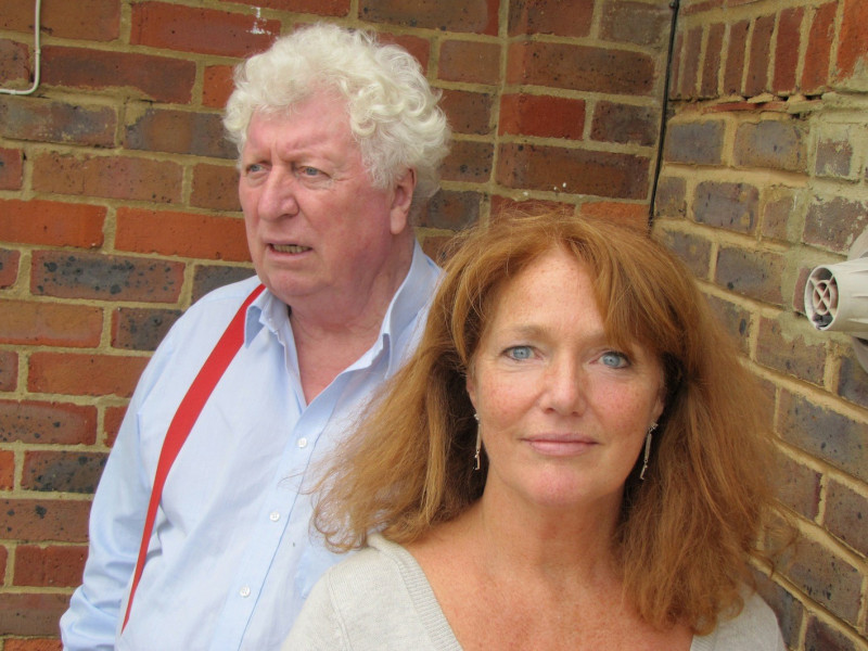 Reunited: Tom Baker and Louise Jameson