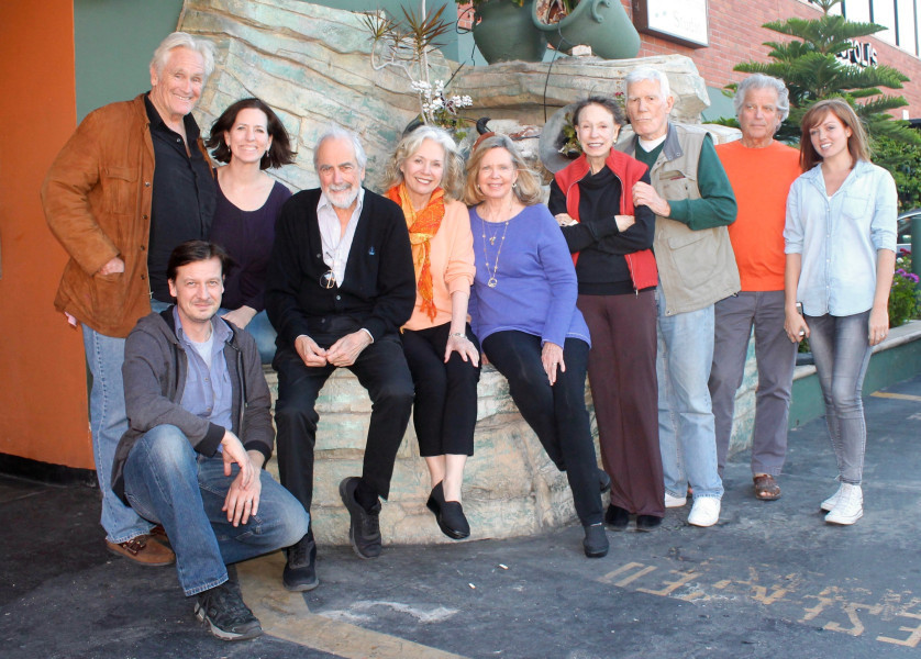 Christopher Pennock, Andrew Collins, Ursula Burton, Jerry Lacy, Kathryn Leigh Scott, Lara Parker, Lisa Richards, Mitchell Ryan, James Storm and Natalie Britton