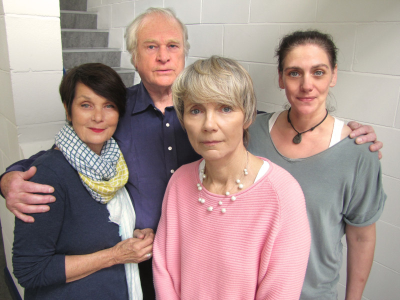Carolyn Seymour, Ian McCulloch, Lucy Fleming and Neve MacIntosh