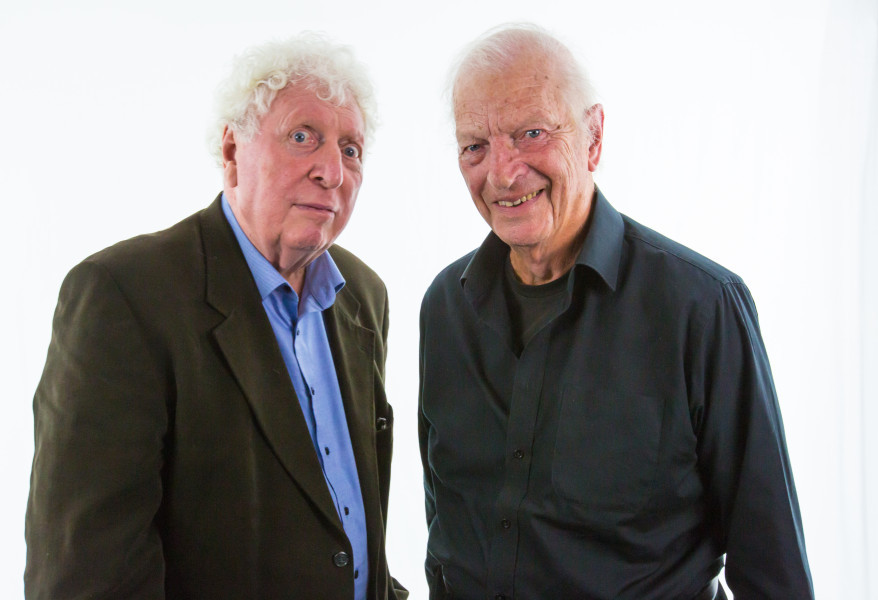 Tom Baker and Gabriel Woolf