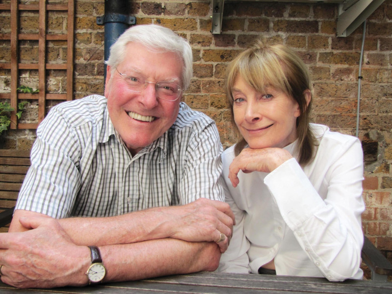 Peter Purves and Jean Marsh