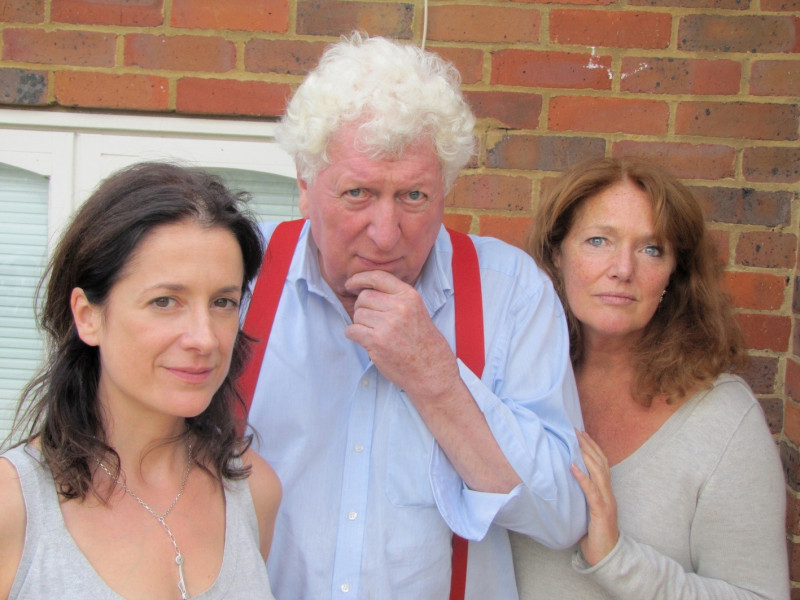 Raquel Cassidy, Tom Baker and Louise Jameson