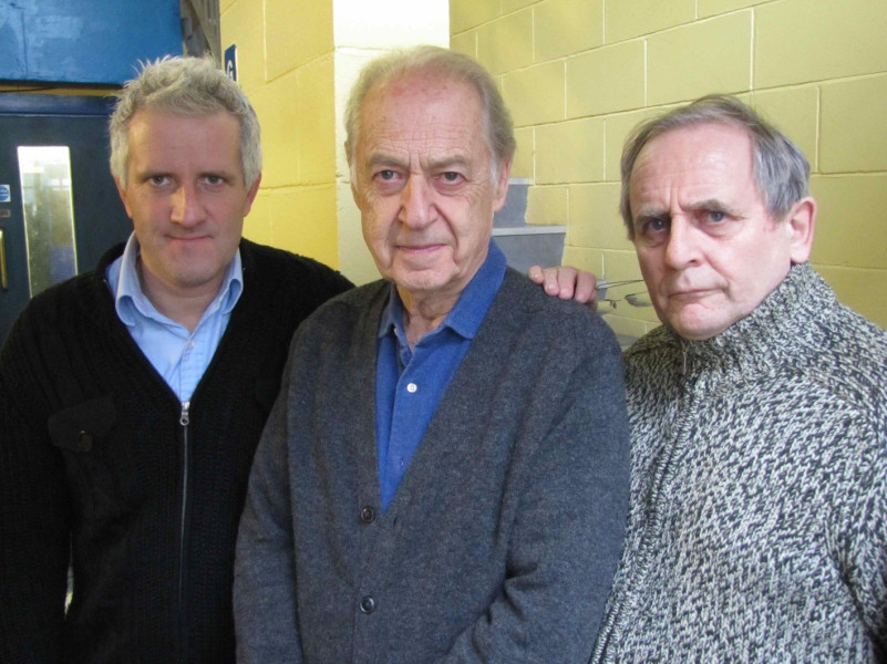 Gus Brown, John Standing and Sylvester McCoy