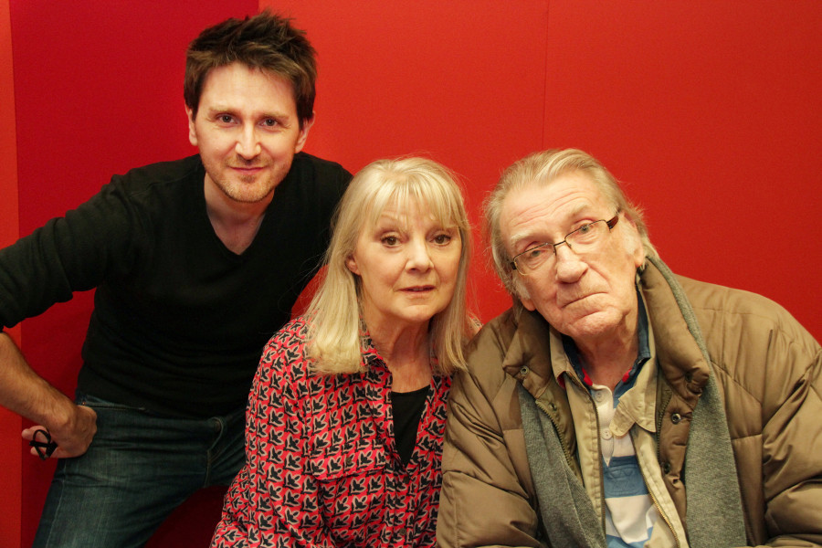 Elliot Chapman, Anneke Wills, David Warner