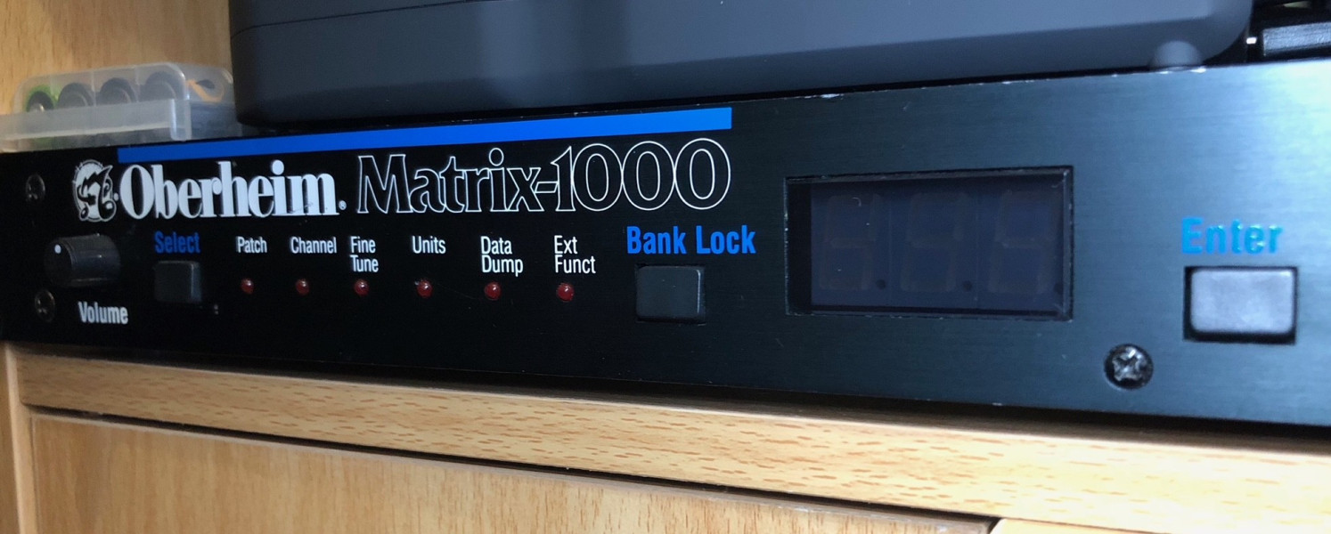 The Oberheim Matrix 1000