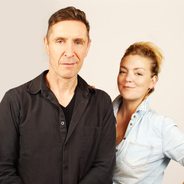 Paul McGann and Sheridan Smith