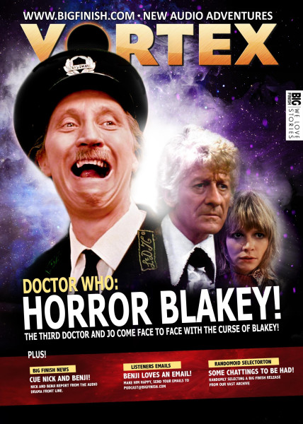 A mock-up of Vortex featuring 'Horror Blakey' by mystery listener 'Mr C'.