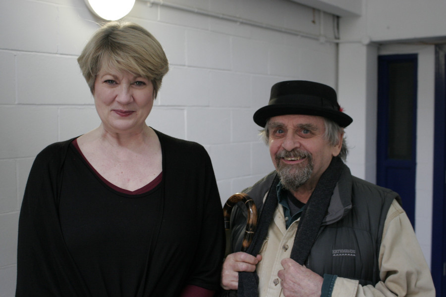 Tracey Childs and Sylvester McCoy back together again