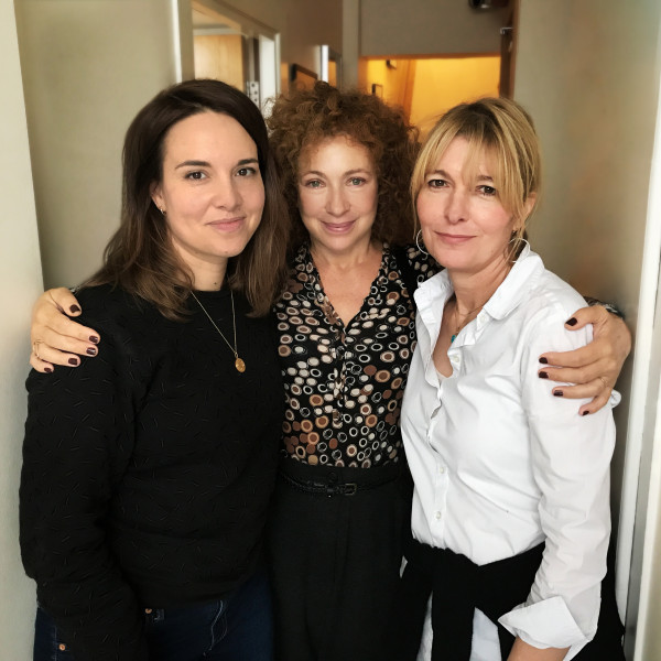 Ingrid Oliver, Alex Kingston and Jemma Redgrave
