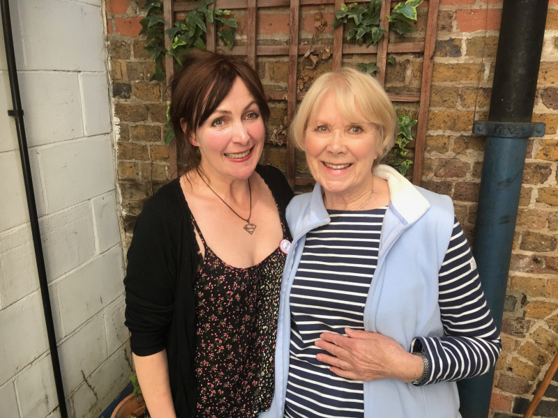 Jane Slavin and Wendy Craig