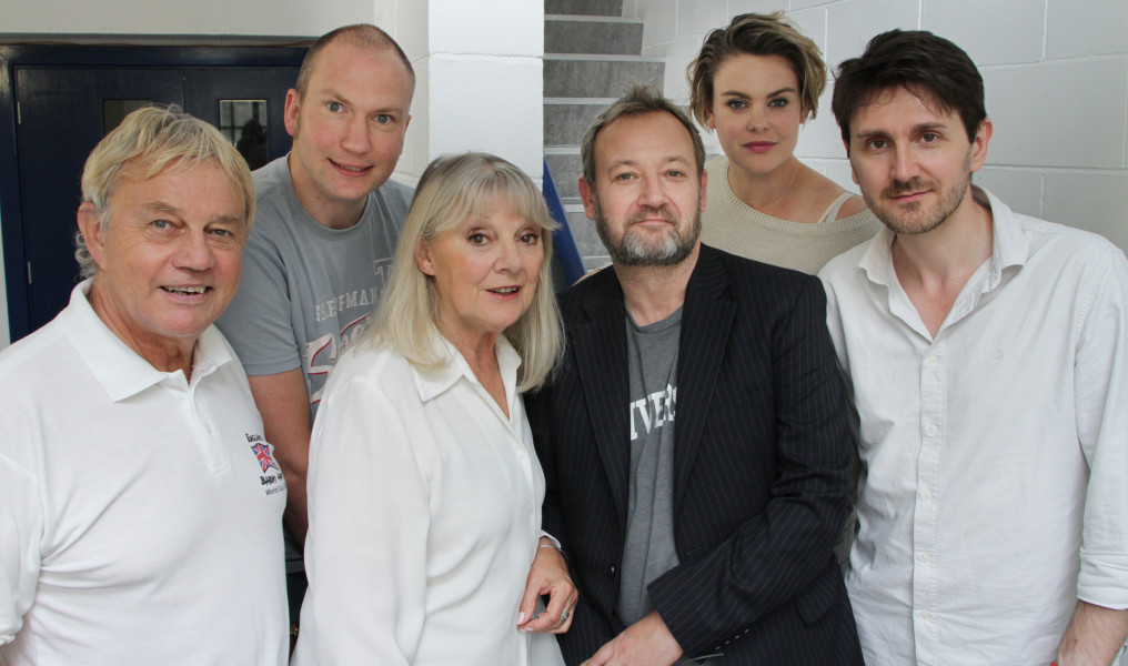 Frazer Hines, Simon Guerrier, Anneke Wills, James Dreyfus , Molly Hanson and Elliott Chapman