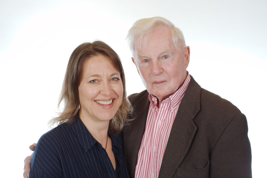 Nicola Walker and Derek Jacobi
