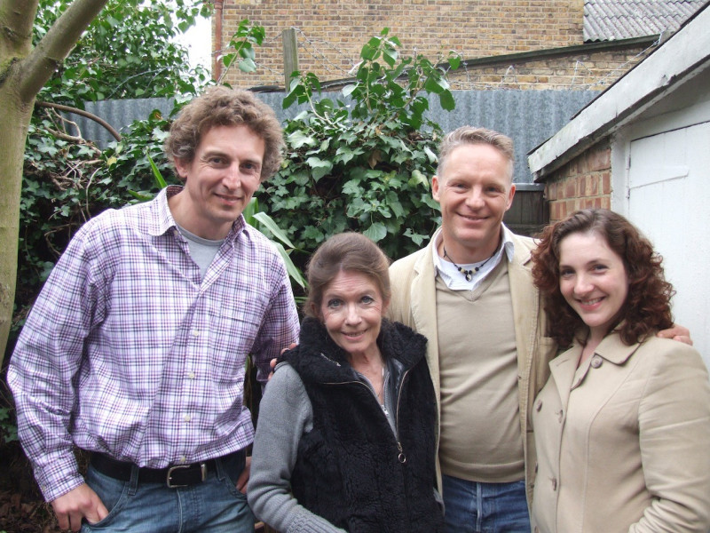 David Richardson, Deborah Watling, Nigel Fairs and Helen Goldwyn
