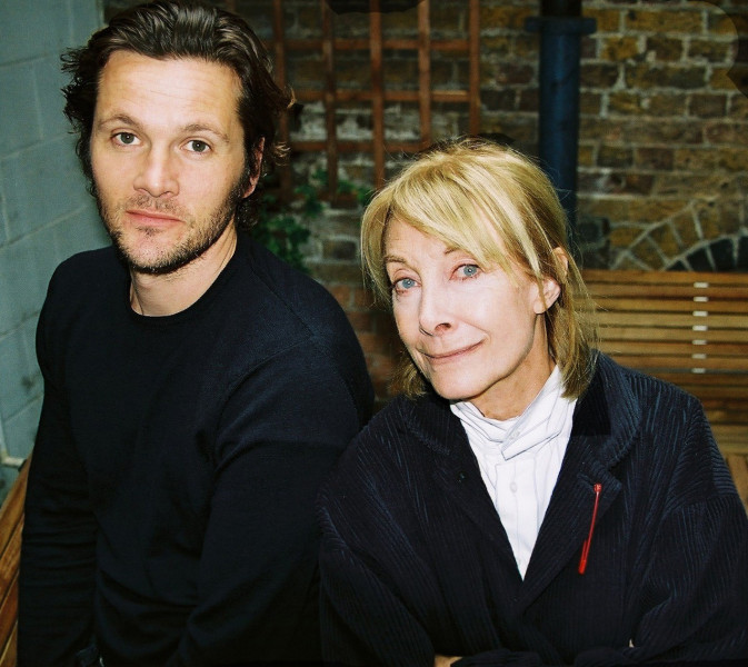 Jean Marsh and Niall MacGregor