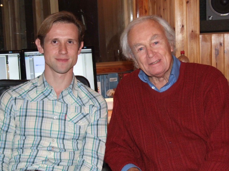 William Russell and Ian Hallard