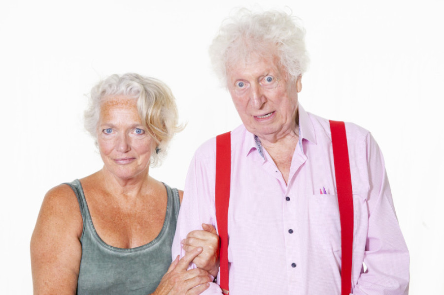 Louise Jameson and Tom Baker
