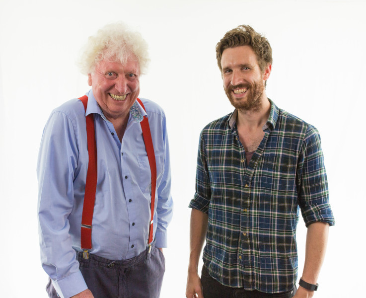 Tom Baker and Brendan Murphy