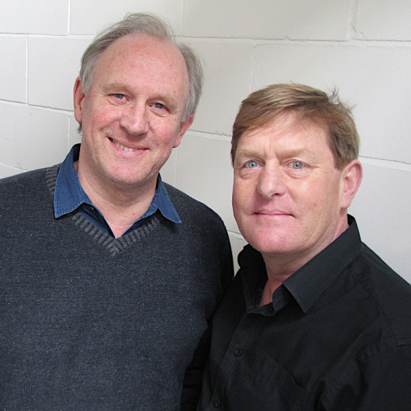 Peter Davison and Mark Strickson (c) Big Finish